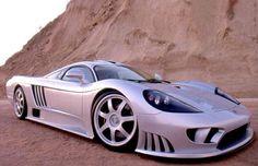 2000 Saleen S7. Designed by Phil Frank (graduate of SJSU ID program)