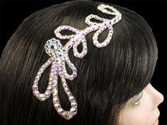 Hair bling for ballroom.