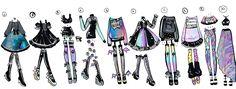 CLOSED- Precious Predator outfits by Guppie-Adopts.deviantart.com on @DeviantArt