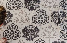 Hexagon Porcelain tiles for walls and floors #tiles #hexagon #blackandwhite