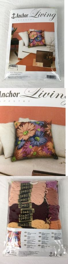 Needlepoint Kits 3109: Anchor Living Needlepoint Canvas Daisy Pinks Tapestry Pillow Front Alr14 -> BUY IT NOW ONLY: $39.95 on eBay!