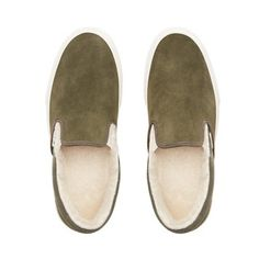Chaussures Suede/Sherpa Classic Slip-On