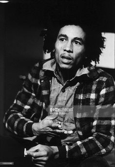 A portrait of Jamaican singer-songwriter and musician Bob Marley (1945 - 1981) in London, 31st May 1973.