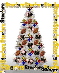 Pittsburgh Steelers Christmas Tree Animated Pictures for Sharing Steelers Images, Steelers Pics, Here We Go Steelers, Steelers Football, Steelers Stuff, Christmas Tree Pictures, Christmas Tree Themes, Xmas Decorations, Christmas Crafts