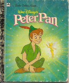 VINTAGE Little Golden Book Walt Disney's Peter Pan by MyraMelinda