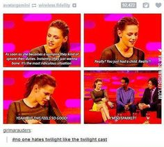No one hates Twilight more than than the Twilight cast.