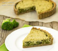 Torta salata tofu e broccoli ricetta vegana
