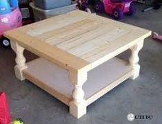 Image result for diy wood coffee table