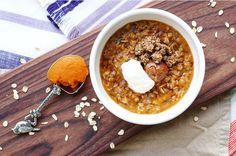 Pumpkin Pie Chia Oatmeal — Real Food Gypsy | Real Food Blogger