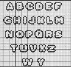 Loom Beading, Beading Patterns, Cross Stitching, Cross Stitch Embroidery, Melty Bead Designs, Special Letters, Graph Paper Art, Diy Perler Beads, Cross Stitch Letters