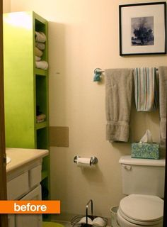 Before & After: Heidi's Epic Bathroom Makeover   Apartment Therapy