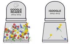 El Cementerio de servicios de Google que han ido desapareciento