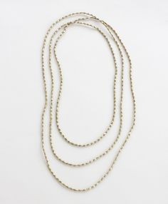 Bethe Rope Necklace $40 - Noonday's most popular necklace, therefore...the perfect gift!! made in Ethiopia out of upcycled metal and artillery #GiftWell