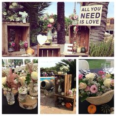 Decoración wedding Finca les palmeres All You Need Is Love, Table Decorations, Weddings, Home Decor, Style, Decoration Home, Room Decor, Mariage, Wedding