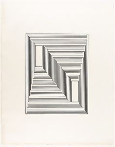 Josef Albers | To Monte Alban, from Graphic Tectonics series | The Met