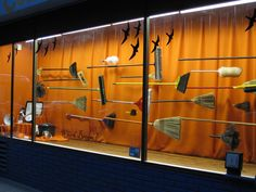 Window Display - Which Broom - Cole Hardware