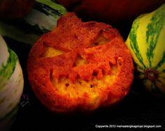 dyniowe muffiny, Halloween, wegańskie dyniowe muffiny, babeczki dyniowe