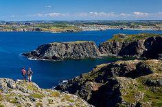 Cuckold's Point Hiking Trail Near Twillingate On The North Coast, Newfoundland, Canada - eStock