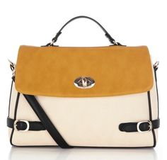 Warehouse Colorblock Satchel
