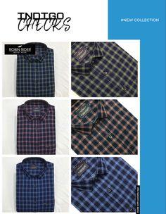 Casual Wear, Casual Shirts, Indigo, How To Wear, Men, Collection, Fashion, Casual Outfits, Moda