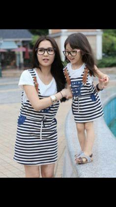 Moda de madre e hija