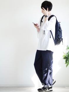 JUN kutirのTシャツ・カットソーを使ったコーディネートWEAR How To Wear, Bags, Outfits, Fashion, Handbags, Moda, Suits, Fashion Styles, Fashion Illustrations