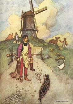 Puss in Boots   by Warwick Goble