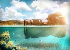 Kamera unterwasser by Til-Artphoto #nature #photooftheday #amazing #picoftheday #sea #underwater