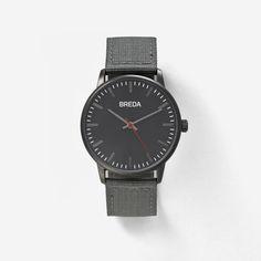Men's  Valor Watch In Gunmetal   Breda Watches