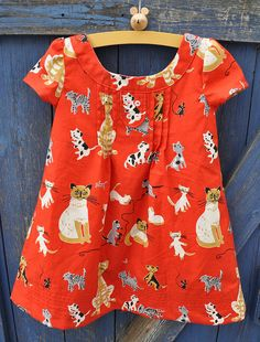 """O+S """"Family Reunion"""" pattern cat dress front   Flickr - Photo Sharing!"""