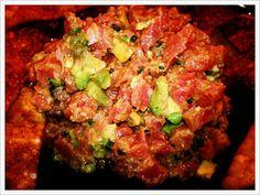 MY tuna tartare recipe :)