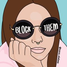 'Block them by Sasa Elebea' Tote Bag by Sabrina Brugmann Babe Quotes, Girl Boss Quotes, Self Love Quotes, Quotes Motivation, Quotes Quotes, Funky Quotes, Sport Quotes, Isagenix, Women Empowerment Quotes