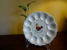 I am looking EVERYWHERE for this deviled egg dish.  Must have for my collection.