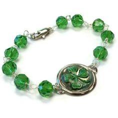 st patrick's day jewelry | Green Bracelet St Patrick's Day Jewelry | Beads & Baubles