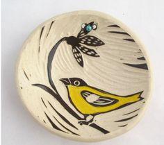 Etsy Friday Finds: handmade ceramic plates - The Wallflower