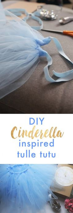 Your little princess will feel extra special in this easy to make tulle tutu.