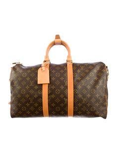 26f8378cf1 Louis Vuitton Monogram Keepall Bandouliere 45 Louis Vuitton Handbags, Louis  Vuitton Speedy Bag, Louis