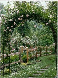 Romantic garden colors