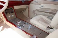 66 chevy nova dash | 2110 Custom Leather Interior 56 Chevy Belair V34 Interiors