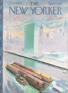 The New Yorker - Saturday, August 19, 1961 - Issue # 1905 - Vol. 37 - N° 27 - Cover by : Garrett Price
