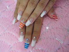 Looks like candy nail art