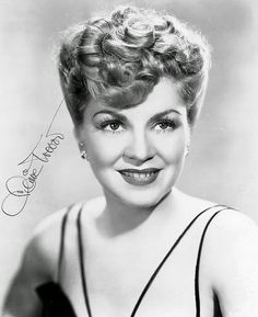 Claire Trevor signed photo...
