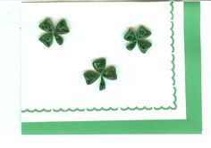 Quilling with Whimsiquills: Just in time for St Patrick's Day
