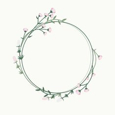 Floral frame badge Free Vector | Free Vector #Freepik #freevector #background #flower #frame #wedding Flower Background Wallpaper, Flower Backgrounds, Flower Circle, Flower Frame, Hand Embroidery Patterns, Embroidery Art, Corona Floral, Wreath Drawing, Wreath Watercolor
