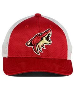 adidas Arizona Coyotes Mesh Flex Cap - Red/White L/XL
