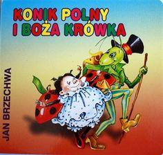 Picture of Konik Polny i Boża Krówka Jan Brzechwa Jaba, Comic Books, Comics, Cover, Cartoons, Cartoons, Comic, Comic Book, Comics And Cartoons