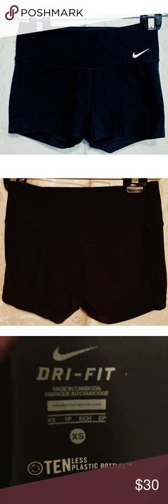 Nike bike athletic shorts Nike bike athletic shorts extra small dry fit excellent condition Nike Shorts