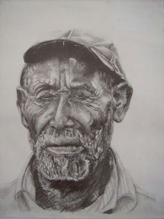Also by Jamaican Artist Nicholas Barrett titled Old Jamaican Man
