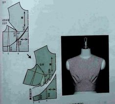 Amazing Sewing Patterns Clone Your Clothes Ideas. Enchanting Sewing Patterns Clone Your Clothes Ideas. Dress Sewing Patterns, Blouse Patterns, Vintage Sewing Patterns, Clothing Patterns, Pattern Sewing, Pattern Draping, Bodice Pattern, Top Pattern, Patron Vintage