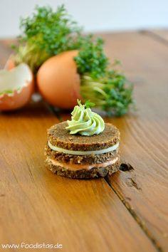 Paprika Matcha Taler   foodistas.de